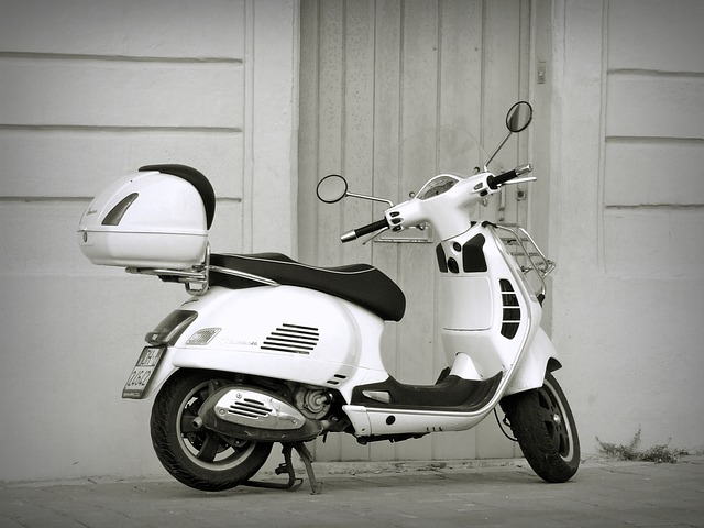 Livraison express en scooter