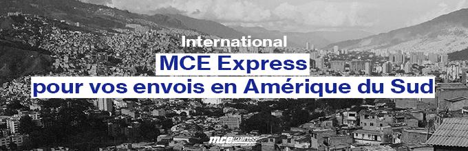 MCE Express vous accompagne dans vos envois en Amérique du Sud à l'étranger
